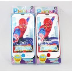 SMT2381 Телефон музыкальный человек паук