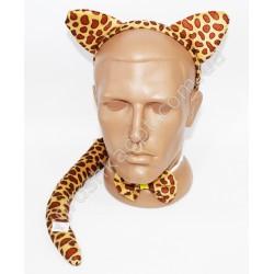 CR3202 Обруч леопард 3в1