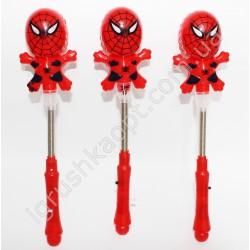 SMP17 Палка Человек паук на пружине (светится)
