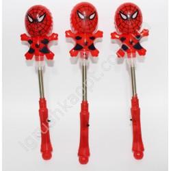 PL271 Палка человек паук на пружине (светится)