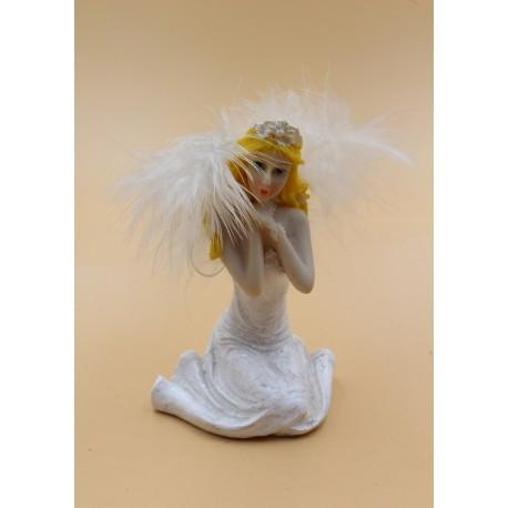V463 Фигурка Ангел, керамика.