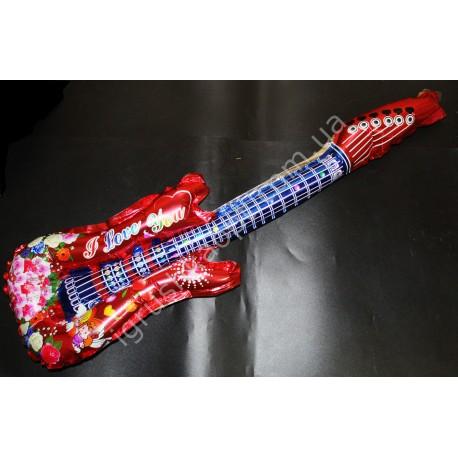 CR1283 Гитара Надувная, фольга, 75 см.
