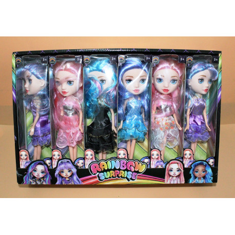 AA3340 Кукла Радуга
